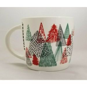 Starbucks Christmas Trees Coffee Mug